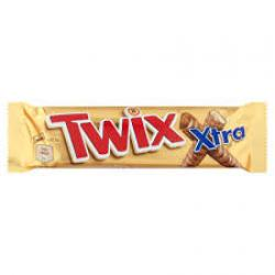 M.FOODS-BAR TWIX EXTRA TWIN 75GR