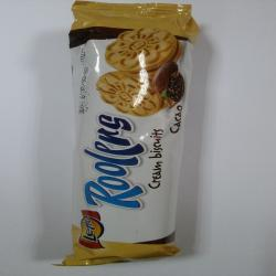 LETTO-KEKS ROOLERS BISCUIT KAKAO 80GR